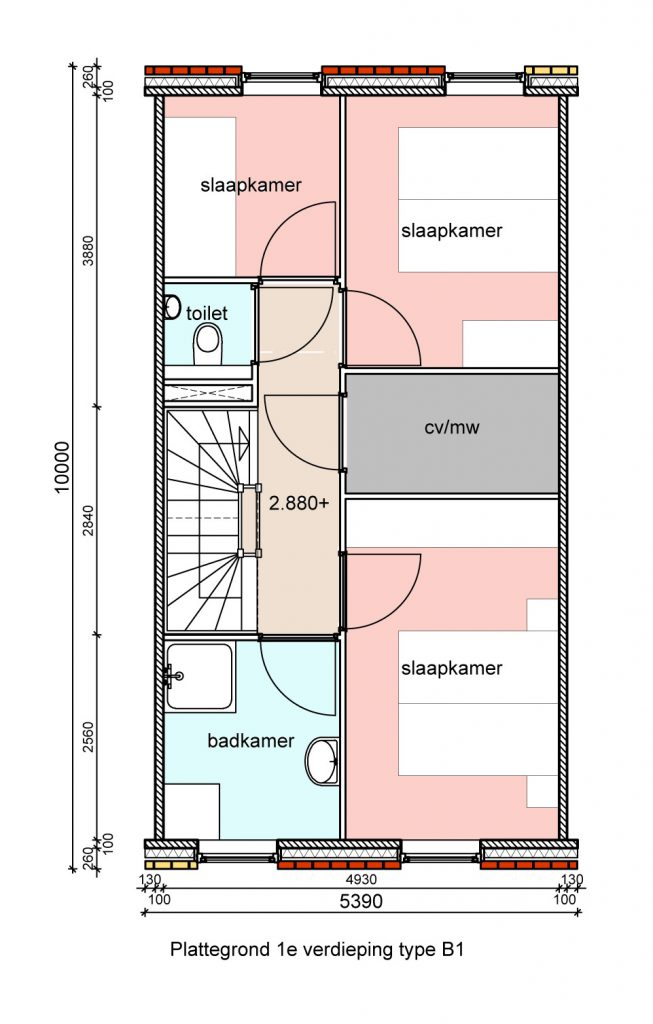 type-b1-hofwoningen-eerste-verdieping