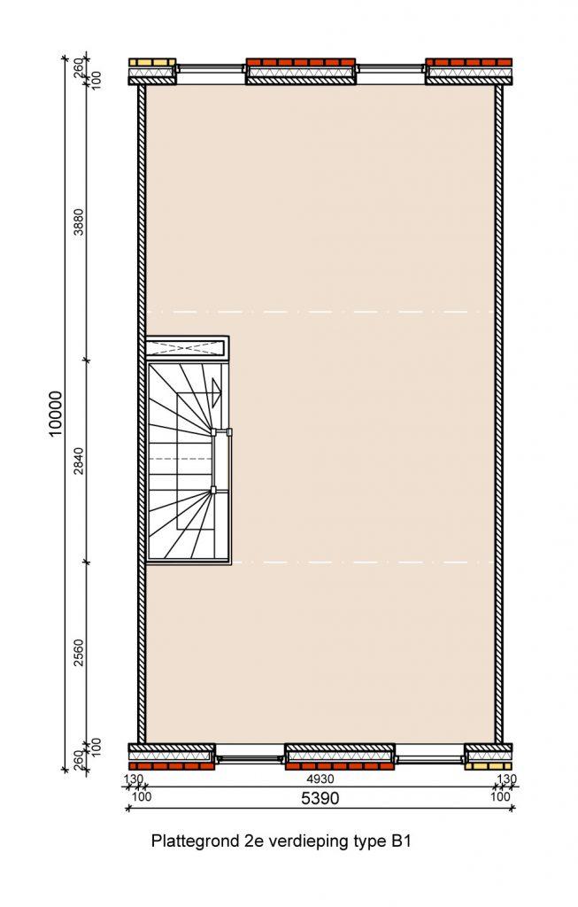 type-b1-hofwoningen-tweede-verdieping