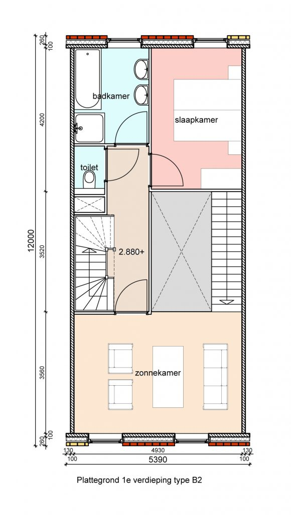 type-b2-hofwoningen-eerste-verdieping