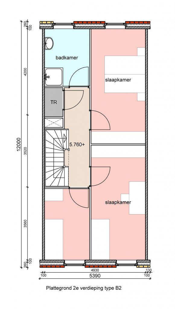 type-b2-hofwoningen-tweede-verdieping