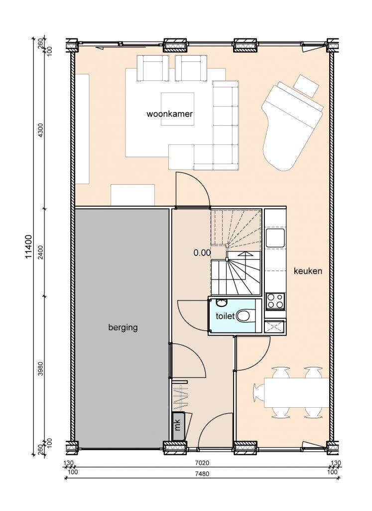 type-c2-randwoningen-garage