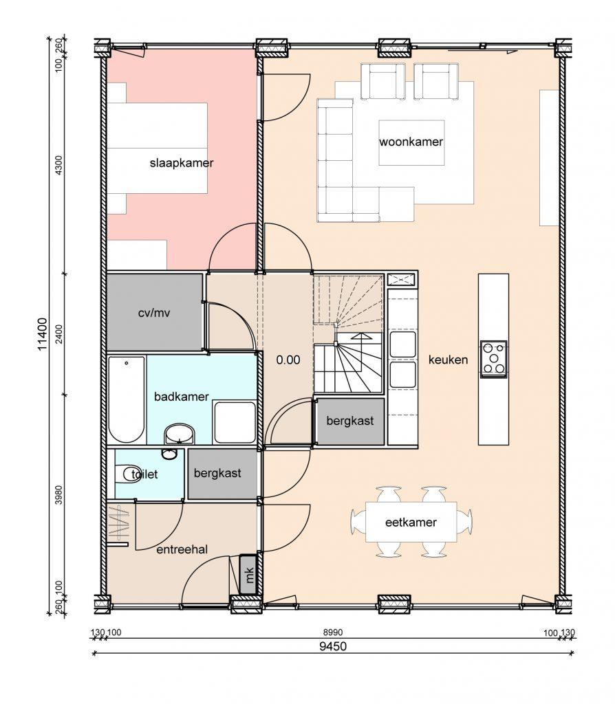 type-d2-randwoningen-slaapkamer-achter