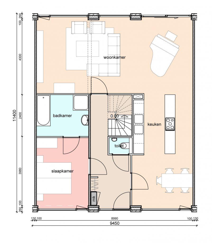 type-d2-randwoningen-slaapkamer-voor