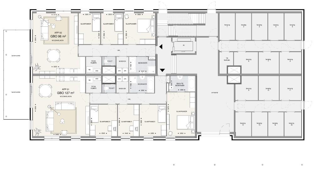 Appartementengebouw 1 – bg