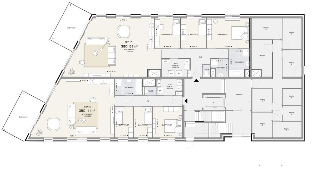 Appartementengebouw 2 – BG
