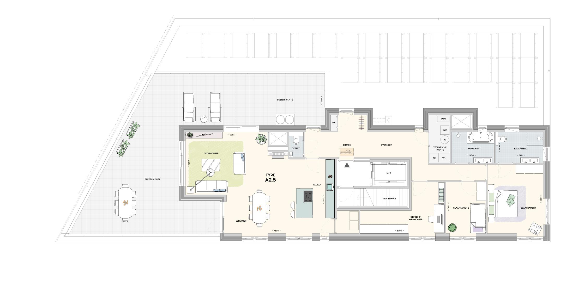 Gebouw 2 penthouse